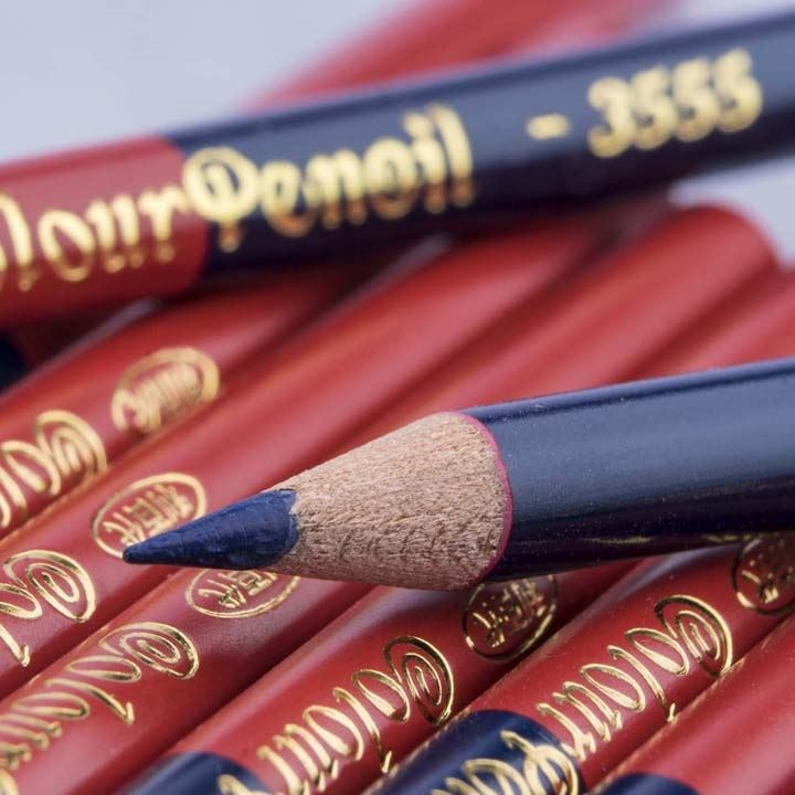 Liberty 3555  Color Pencil (Red and Blue)